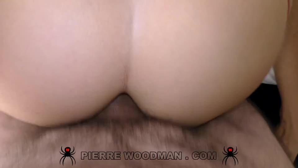 [WoodmanCastingX] Hard – Intensive sex with 3 men - Clea Gaultier (DP)/(High Heels)