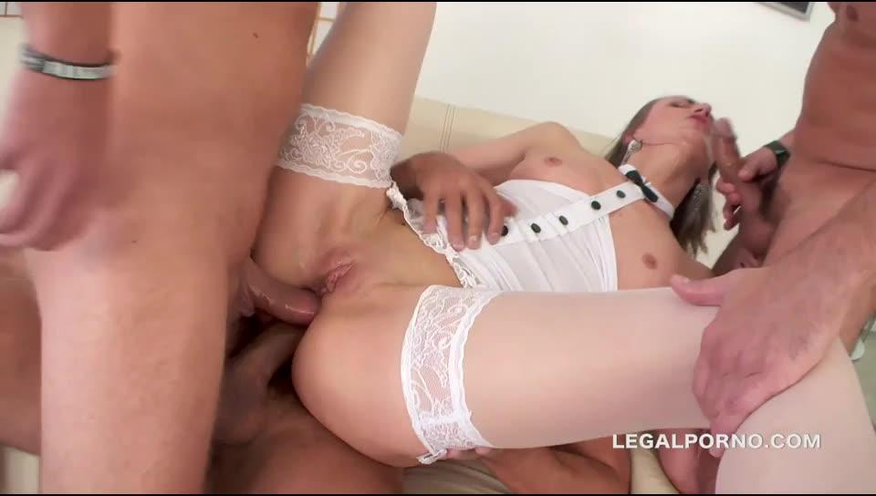 [LegalPorno] DAP Destination. First DAP, intense DP, 4 swallow. Deep anal toys, balls deep ass fucking - Afina (DAP)/(Stockings)