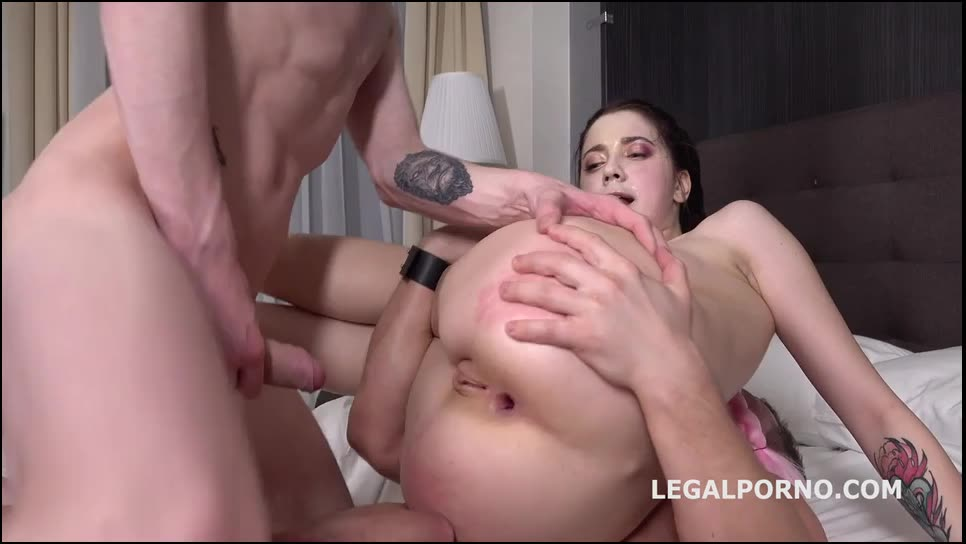 [LegalPorno] Anal and DP with Rough Sex, Manhandle, Gapes, Facial GL023 - Sweet Hole (DP)/(Tattoo)