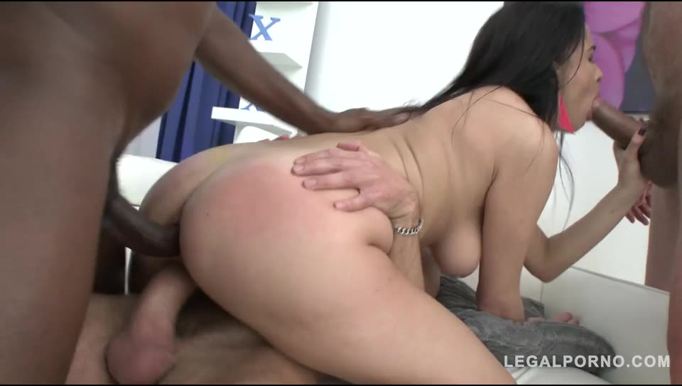 [LegalPorno] First time in studio: Airtight DP – Nikky Perry (DP)/(3M1F)