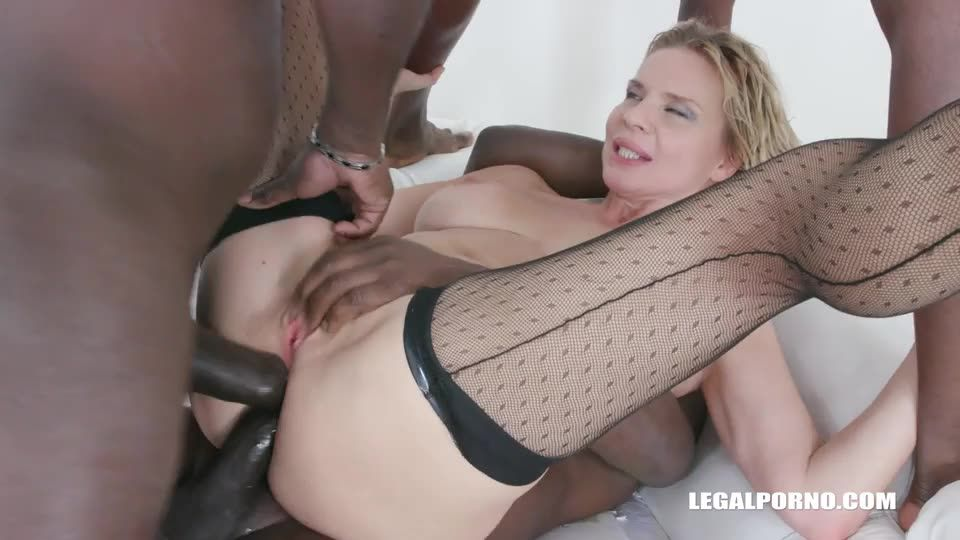 Enjoys black cocks and black champagne (LegalPorno) Cover Image