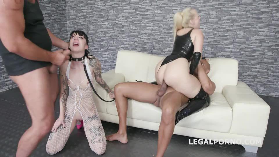 Mistress Domination, Fetish, Balls Deep Anal, DAP, Creampie Swallow (LegalPorno) Screenshot 4