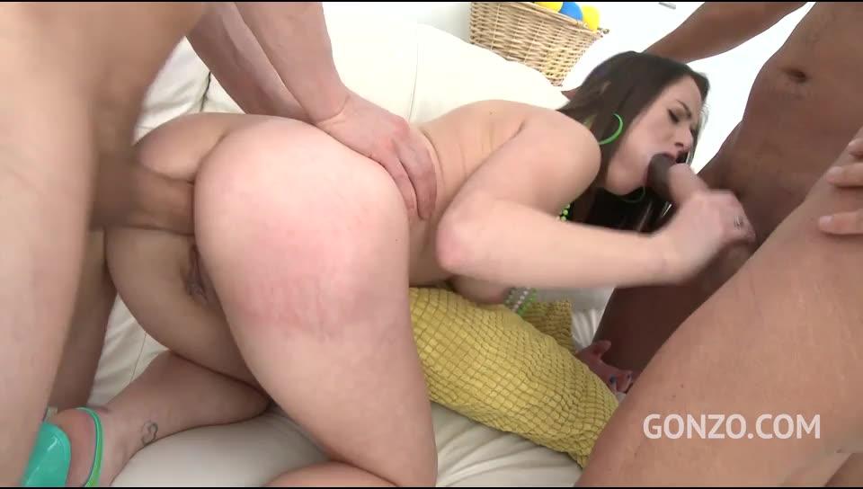 [LegalPorno] Rough anal fucking with DAP & triple penetration – Gabriella Lati (DAP)/(3M1F)