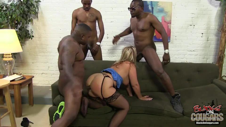 Blacks On Cougars 12 (Hush Hush Entertainment) Screenshot 6
