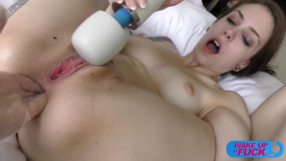 [WakeUpNFuck / PierreWoodman] WUNF 189 - Anna De Ville (DAP)/(Natural Tits)