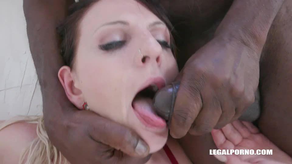 Keeps enjoying black cocks (LegalPorno) Screenshot 8