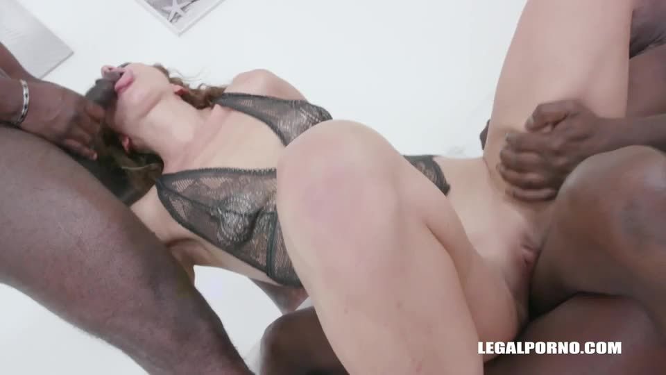 [LegalPorno] First anal first black cocks for kinky bitch - Julia North (DAP)/(Brunette)