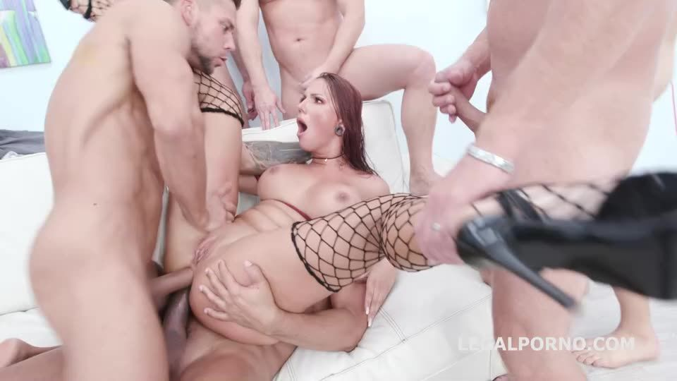 Creampie and Swallow Gangbang, Balls Deep Anal, Gapes, DAP, Squirting, Creampie, Swallow (LegalPorno) Cover Image