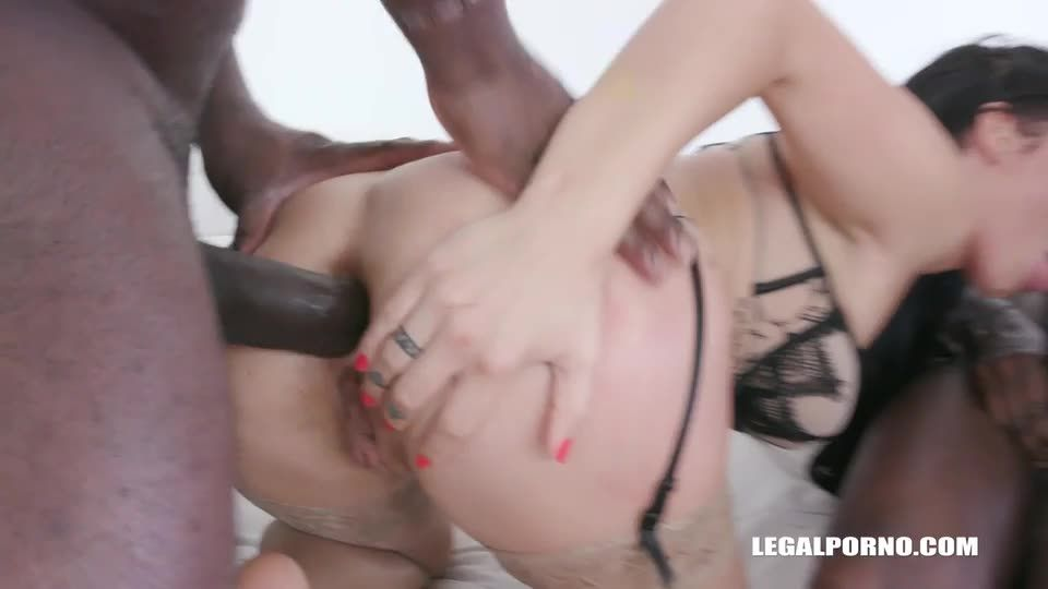 Back to take two black cocks in the ass (LegalPorno) Screenshot 2