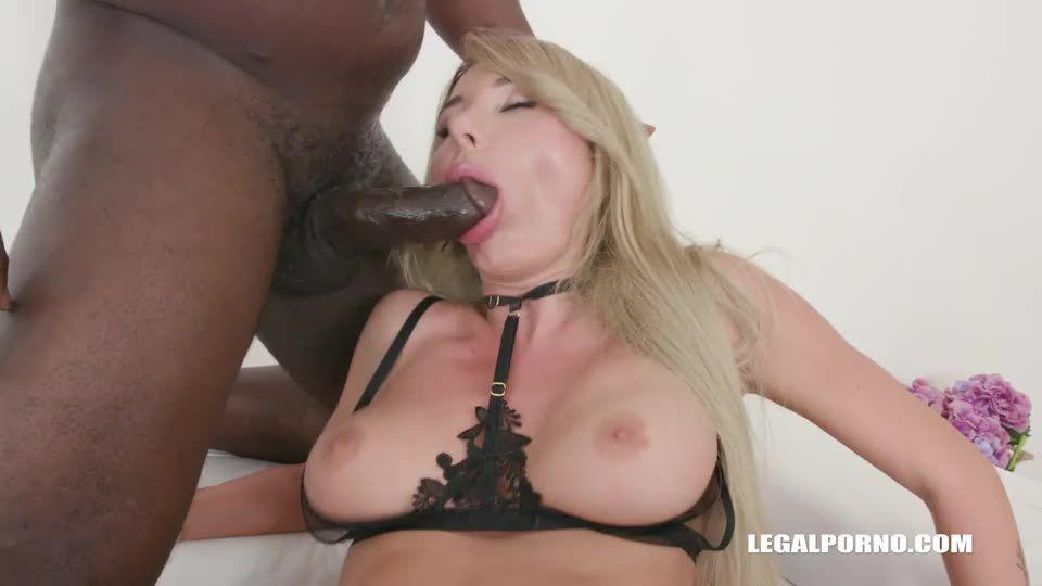 [LegalPorno] Keeps enjoying black cocks - Marilyn Crystal (DPP)/(Stockings)
