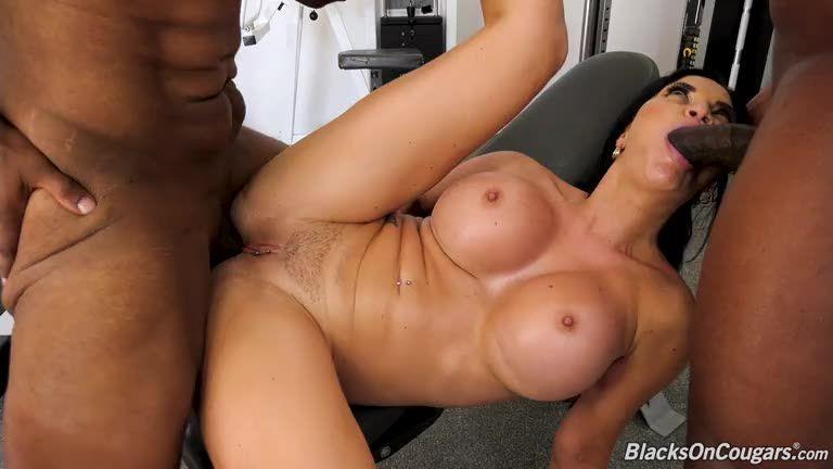 Two Big Black Cock (BlacksOnCougars / DogFartNetwork) Screenshot 3