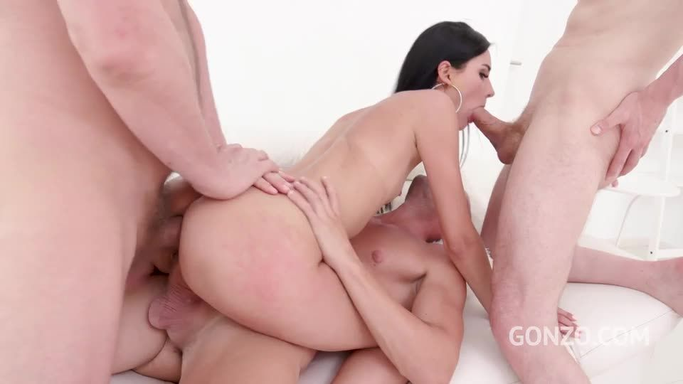 Welcome to Gonzo with balls deep anal DP (LegalPorno) Screenshot 4