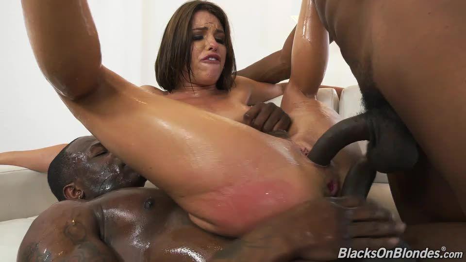 Two Big Black Cock (BlacksOnBlondes / DogFartNetwork) Screenshot 6