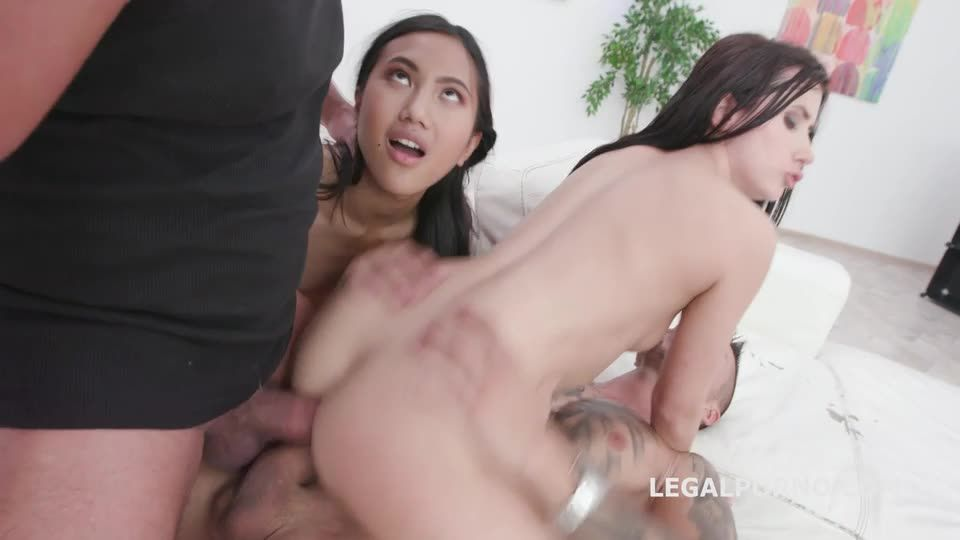 May Thai is Back 1, Balls Deep Anal, DAP, Gapes, Creampie Swallow (LegalPorno) Screenshot 7