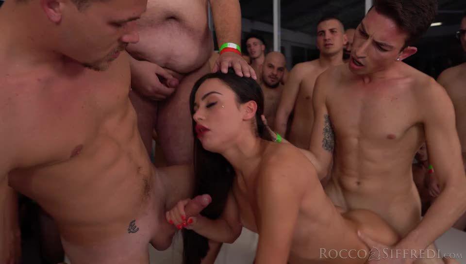 Rocco's 69 Dicks Gang Bang Challenge (RoccoSiffredi) Screenshot 8