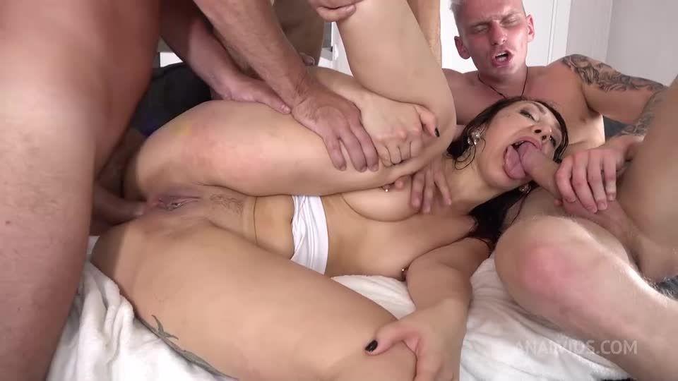 Three Big Cocks – Balls Deep Anal – Squirting, Big Anal Gape, Double GAG, ATP, ATM VK101 (LegalPorno / AnalVids) Screenshot 8