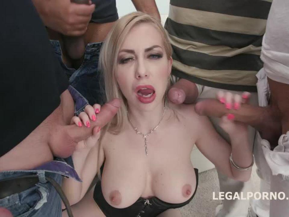 Triple Anal Stars, Balls Deep Anal and DAP, TAP, Gapes and Swallow (LegalPorno) Screenshot 0