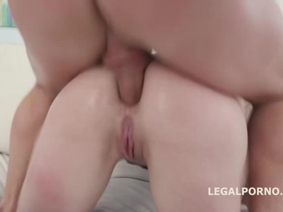 Triple Anal Stars, Balls Deep Anal and DAP, TAP, Gapes and Swallow (LegalPorno) Screenshot 5