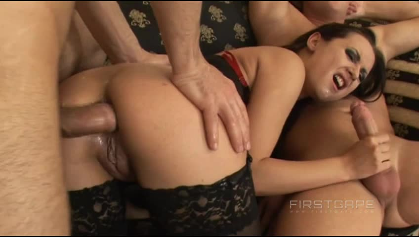 [LegalPorno] First Gape Amber DP Video 5102 (FirstGape) - Amber (DP)/(Brunette)