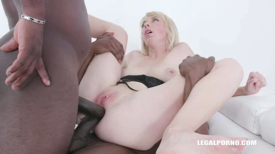 [LegalPorno] Young Alisia enjoys black feeling and takes two cocks in the ass - Alisia (DAP)/(High Heels)