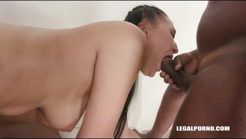 [LegalPorno] Enjoys pissing play - Vanessa Vaughn (DAP)/(Natural Tits)