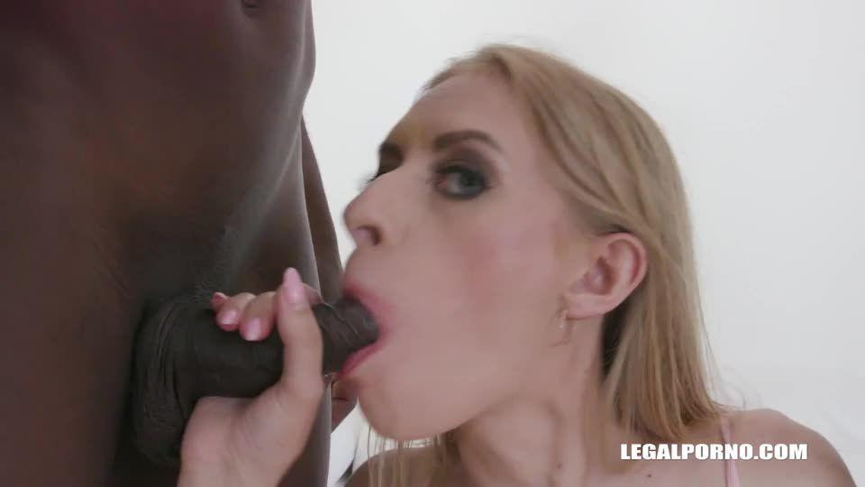 Two black cocks in the ass (LegalPorno) Screenshot 1