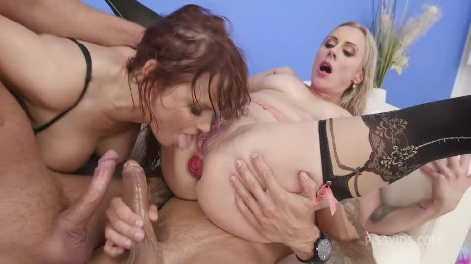 Filthy #1 Wet, Fisting, ATOGM, DAP, Gapes, ButtRose, Pee Drink, Creampie Swallow (LegalPorno / AnalVids) Screenshot 6