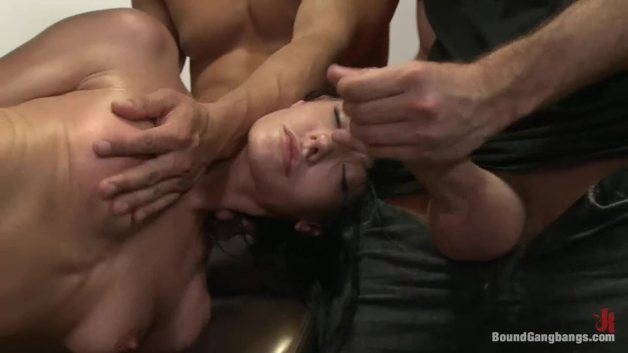 [BoundGangBangs / Kink] The Photoshoot - Aliz (GangBang)/(Brunette)