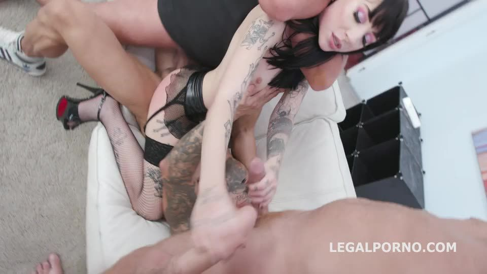 [LegalPorno] Monster of QUAP, All in with Balls Deep Anal and DAP, TAP, QUAP, Great Gapes, Facial - Charlotte Sartre (GangBang)/(Tattoo)