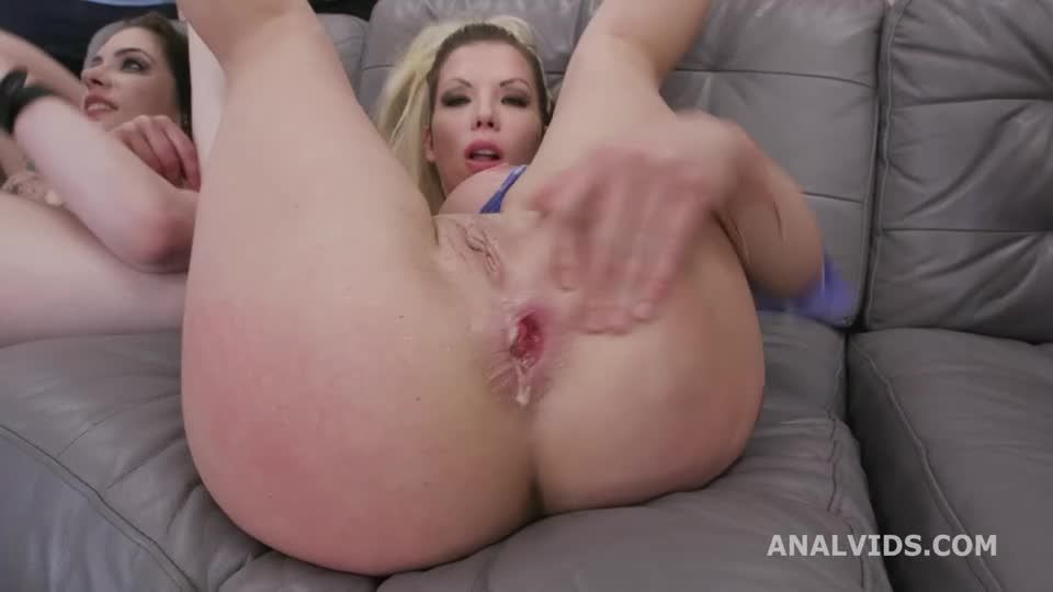 Happy Wet B-day #1, presents with DAP, Gapes, ButtRose, Pee Drink and Creampie (LegalPorno) Screenshot 4
