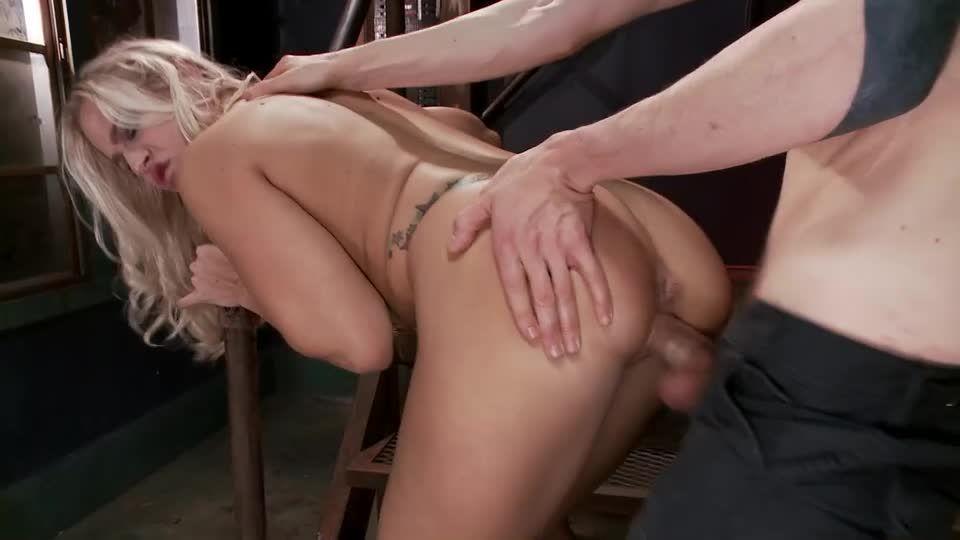 Big Tit MILF Gets Double Penetrated (FuckedandBound) Screenshot 2