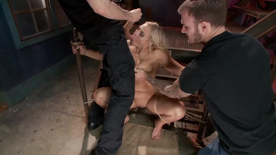 Big Tit MILF Gets Double Penetrated (FuckedandBound) Screenshot 3