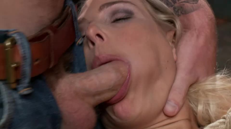 Big Tit MILF Gets Double Penetrated (FuckedandBound) Screenshot 6