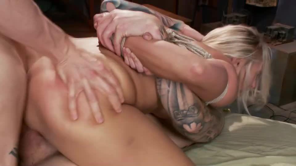 Big Tit MILF Gets Double Penetrated (FuckedandBound) Screenshot 8