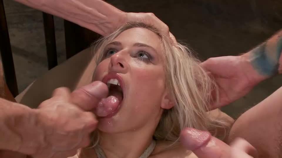 Big Tit MILF Gets Double Penetrated (FuckedandBound) Screenshot 9