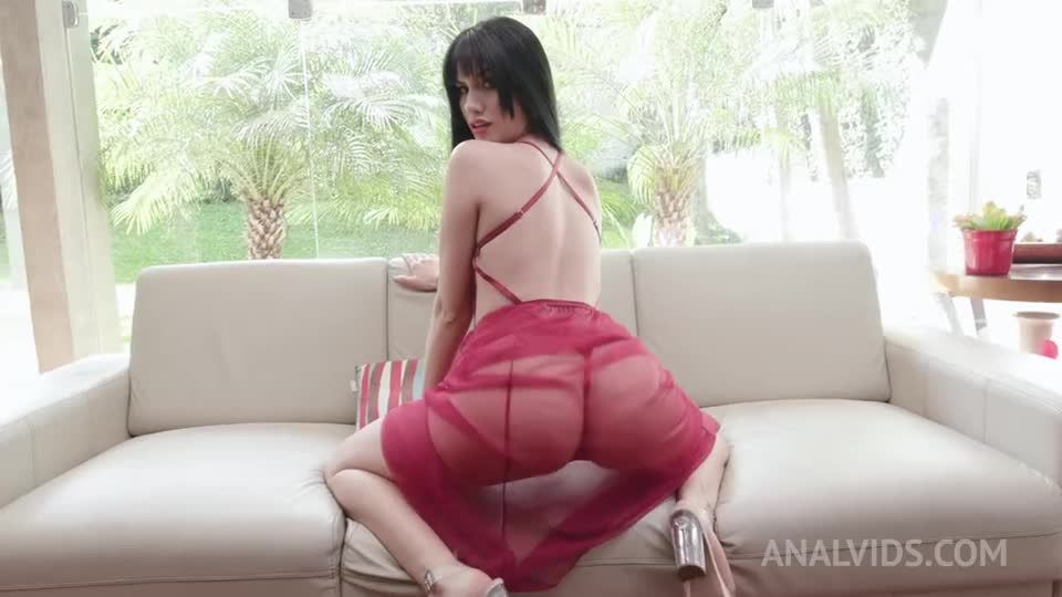 Hot latina double anal fucked by 3 huge cocks YE094 (LegalPorno / AnalVids) Screenshot 0