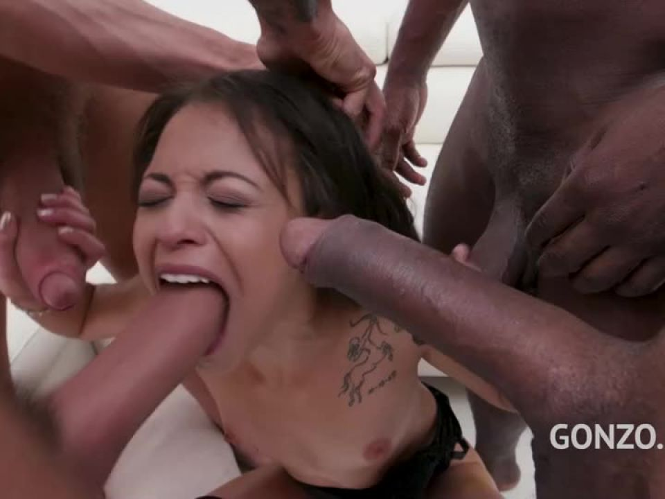 Eats anal creampies after balls deep DAP (LegalPorno) Screenshot 7
