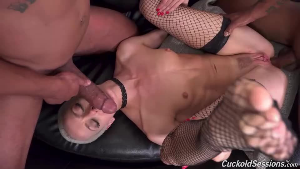 Two Big Black Cock (CuckoldSessions / DogFartNetwork) Screenshot 6