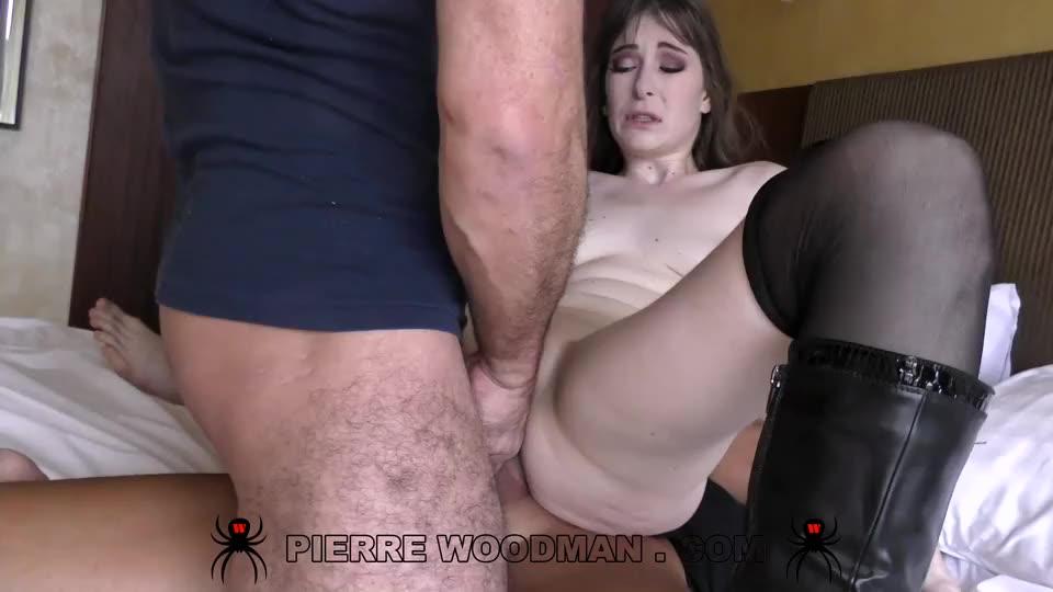 [WoodmanCastingX] XXXX – DAP destruction by 4 men - Denise Martin (GangBang)/(Stockings)