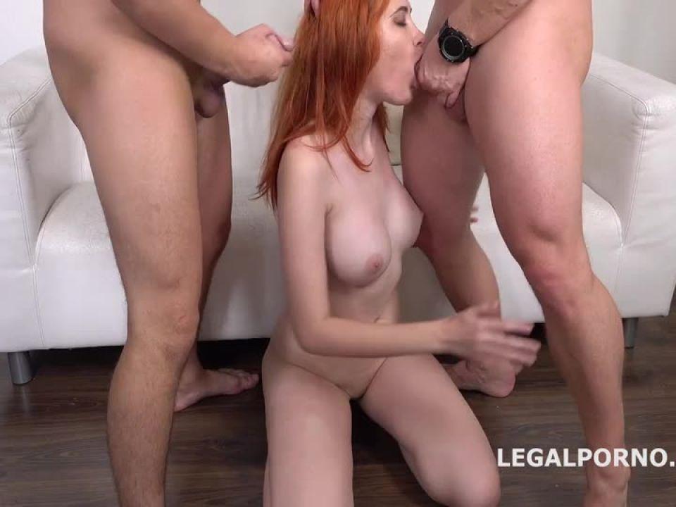 DP Balls Deep Anal, Multiple DP, Cum in Mouth (LegalPorno) Screenshot 0