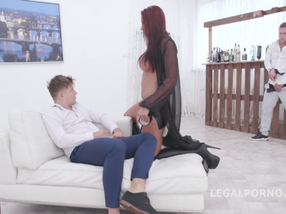 In Control, She decides what to do and speaks her native language Balls Deep Anal, DAP, Big Gapes (LegalPorno) Screenshot 0