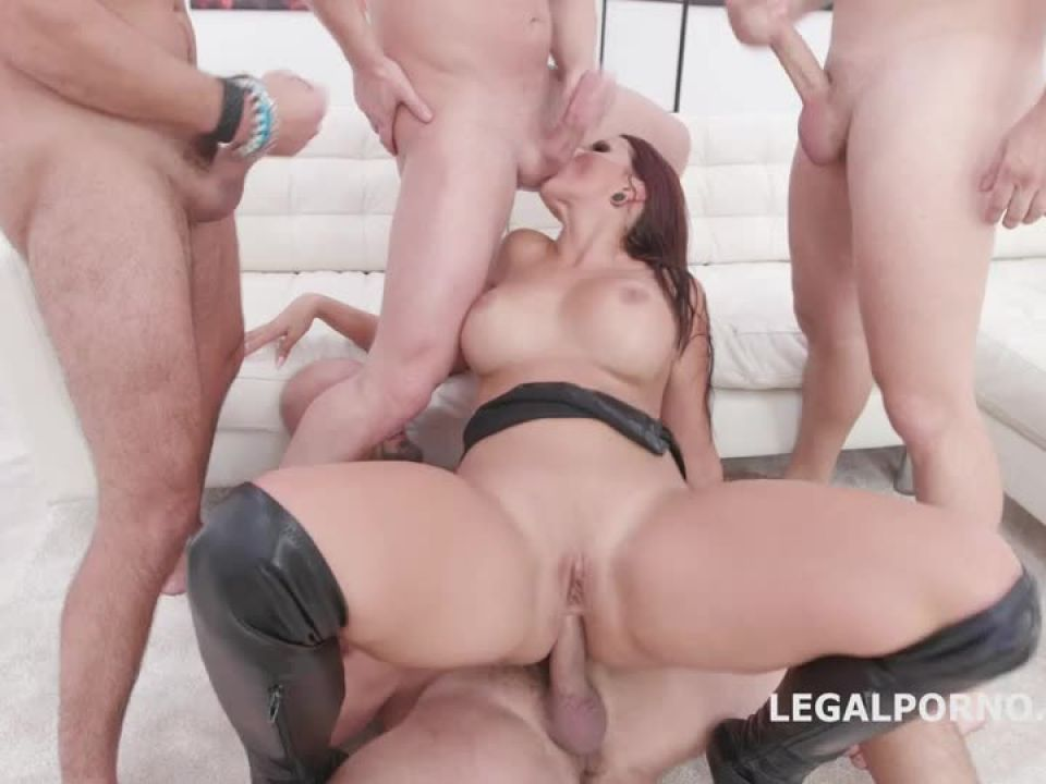 In Control, She decides what to do and speaks her native language Balls Deep Anal, DAP, Big Gapes (LegalPorno) Screenshot 9