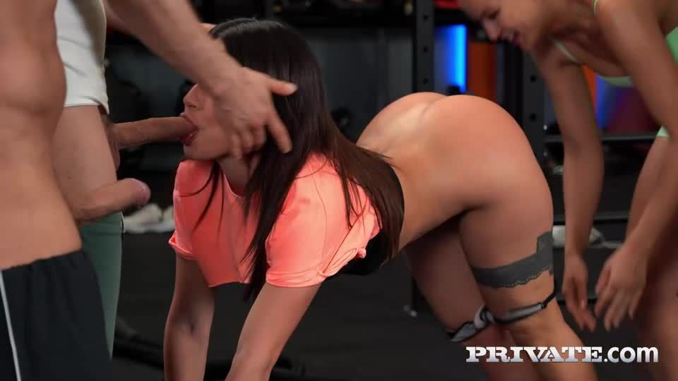 Celebratory Orgy as Cherry Meets Alexis (AnalIntroductions / Private) Screenshot 1