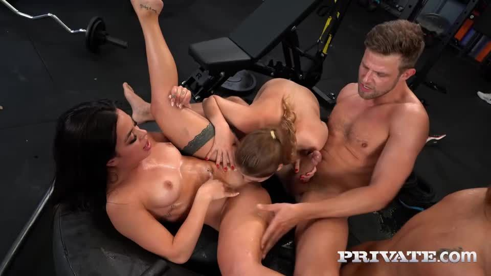 Celebratory Orgy as Cherry Meets Alexis (AnalIntroductions / Private) Screenshot 4
