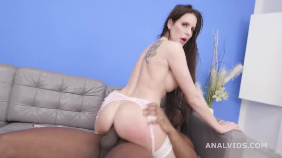 [LegalPorno / AnalVids] 2 BBC with Pee, Balls Deep Anal, DAP, Gapes, Pee Drink, Anal Fist and Creampie Swallow - Giada Sgh, Barbie Esm (DAP)/(Big Tits)