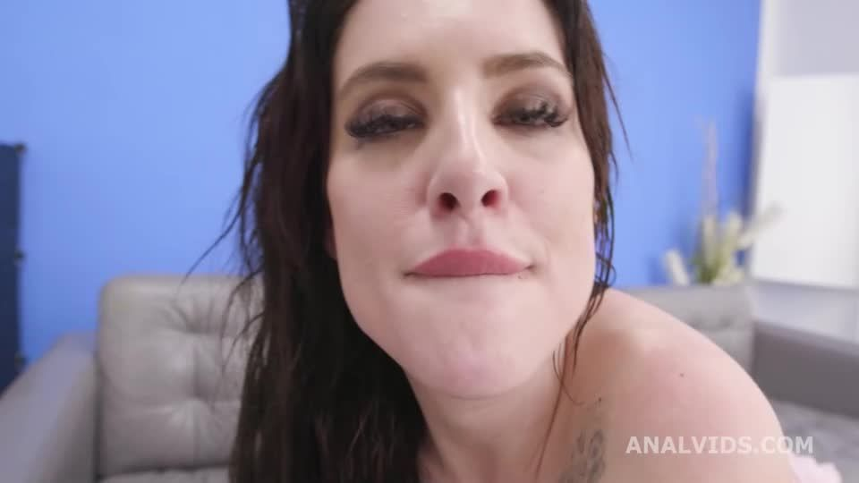 2 BBC with Pee, Balls Deep Anal, DAP, Gapes, Pee Drink, Anal Fist and Creampie Swallow (LegalPorno / AnalVids) Screenshot 9