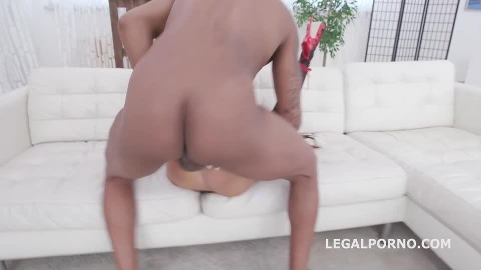 Double Anal Creampie, Balls Deep Anal, Gapes, Creampie Swallow (LegalPorno) Screenshot 3