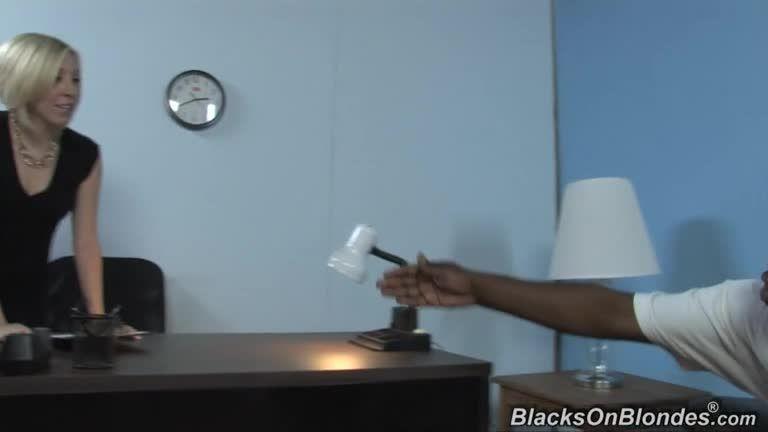 2 Big Two Black for Her White Crack 1 (BlacksOnBlondes / DogFartNetwork) Screenshot 0