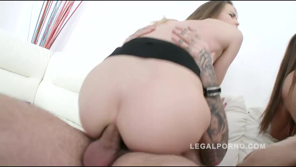 [LegalPorno] Anal & DP 4some for Legal Porn - Cindy Loarn, Cindy Shine (DP)/(Brunette)