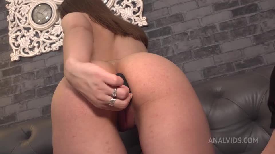 2 Hard Dicks! Deepthroat, DP, ass licking, squirt! NRX050 (LegalPorno / AnalVids) Screenshot 0
